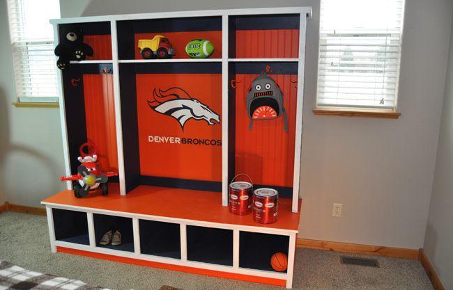 59 best dream house backyard images on pinterest for Denver broncos bedroom ideas