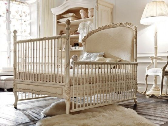 The ultimate luxury cot for your baby - the Italian designed Silvio Firmino Notte Fatata Crib - Crux Baby