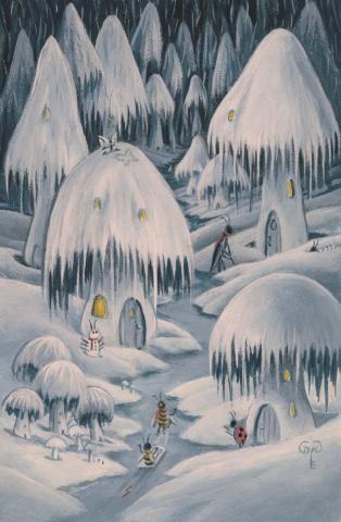 Diane Kremmer - 2011 'Snowy Day'
