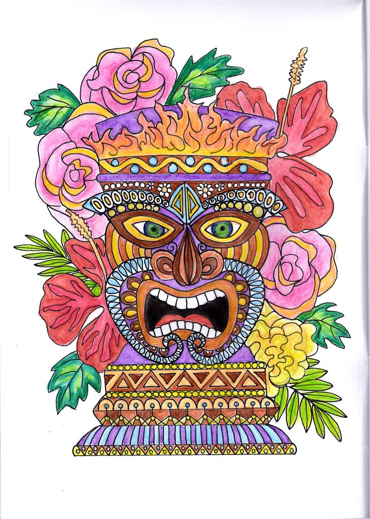 From the  Vintage & Retro: Coloring Book  by Collette Renee Fergus  Link: http://a.co/fsY2TEP