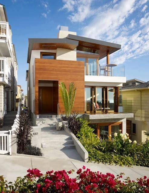 Fachadas de casas modernas lasfachadas.blogspot.com