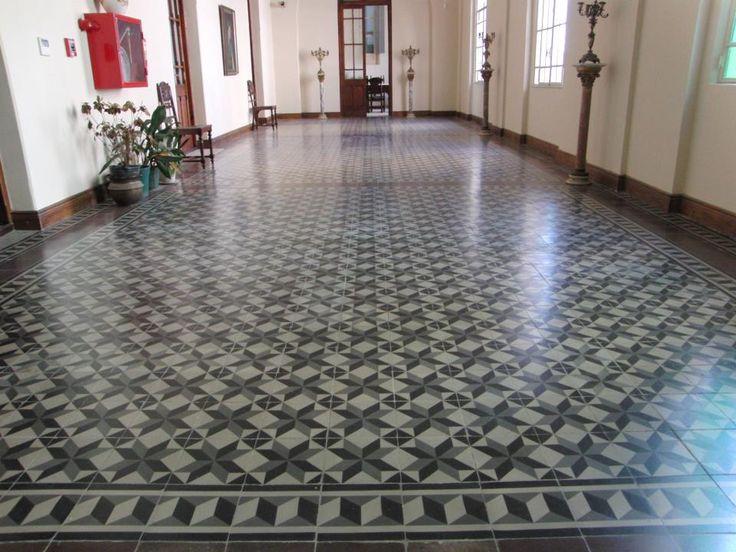 MOSAICOS CALCAREOS RESTAURACIÓN BASÍLICA LUJAN CHURCH OLD TILES CLASSIC http://www.calcareosfenix.com.ar/