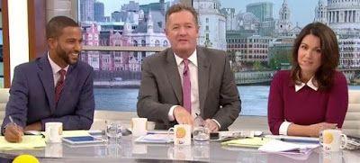 Good Morning Britain's Sean Fletcher Calls Piers Morgan A 'Snake'