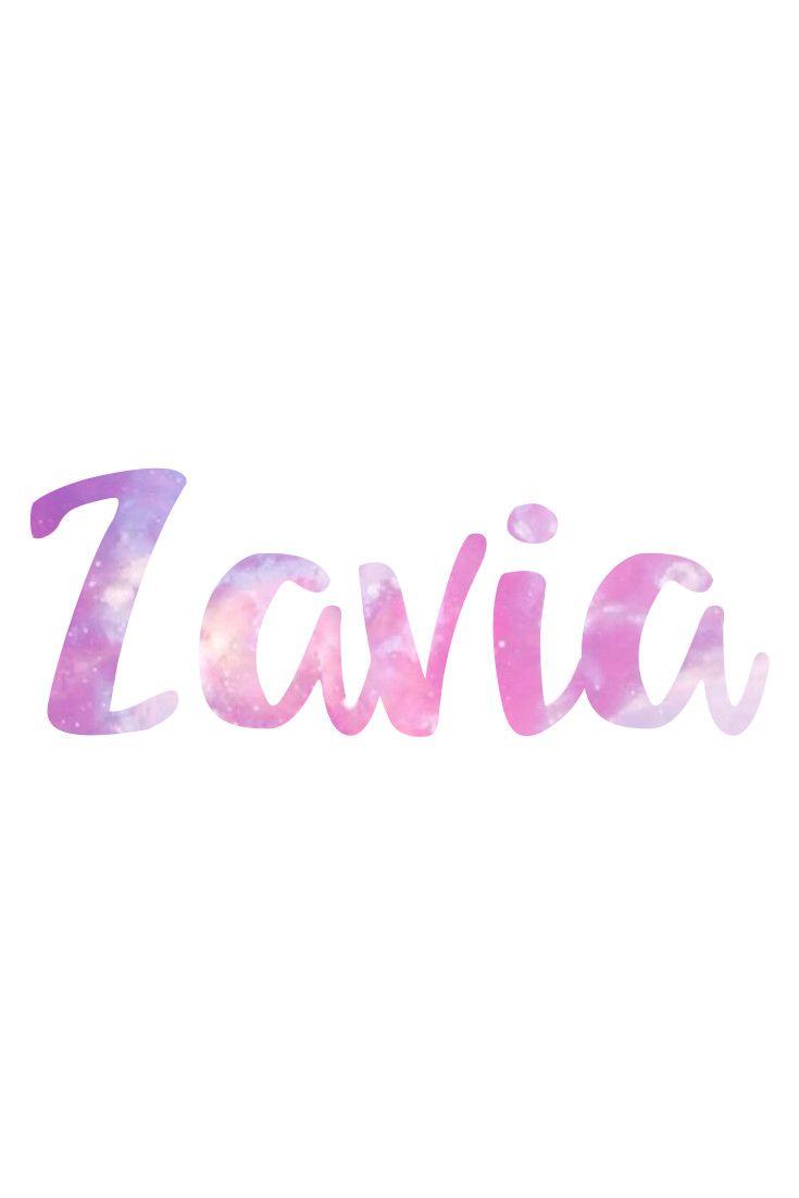 Zavia: Unusual Names for Girls I Nameille.com