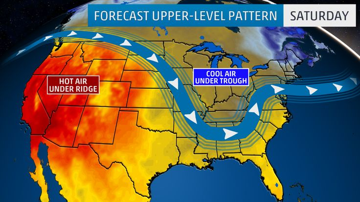 #Records Lows Set as #Fall-Like Chill Hits #East, South...