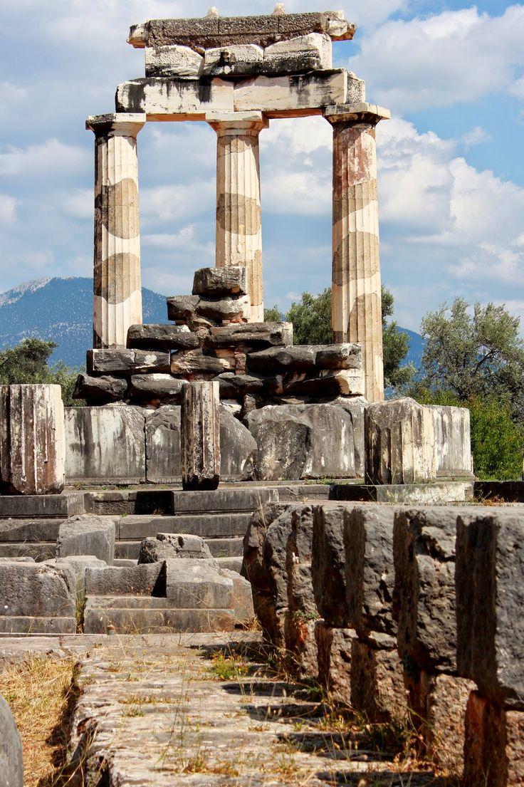 #Delphi #ILoveGreece #JOHNNY #Greece #mythology #culture #monuments #history