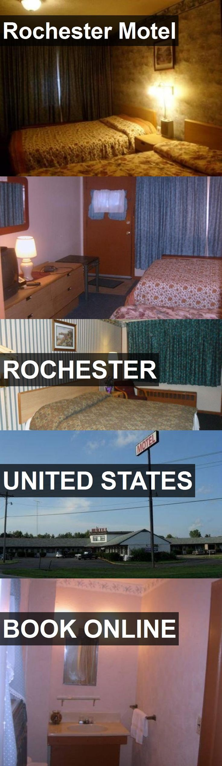 Hotel Rochester Motel in Rochester, United States. For more information, photos, reviews and best prices please follow the link. #UnitedStates #Rochester #travel #vacation #hotel