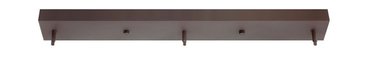 Hinkley Lighting 83669 Rectangular 3 Pendant Canopy Adaptor Oil Rubbed Bronze Accessory Canopies Canopies