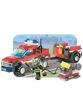 Lego City Fire Pick up Truck