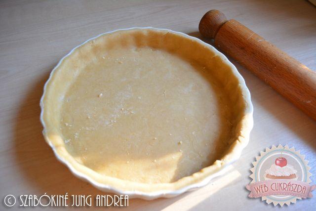 Egyszerű omlós vajas tészta pitékhez