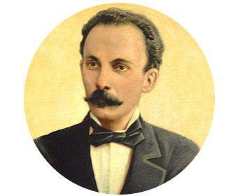 José Martí:  Poeta y figura importante en el proceso de la independencia de Cuba de España.