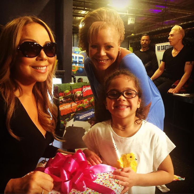 Mariah carey, Monroe and nick cannons mum, mother's day 2016