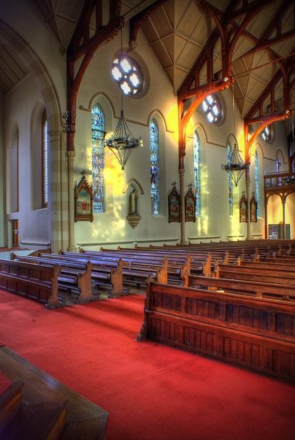 St. Mary's of Bamber Bridge Catholic Church, Preston, England