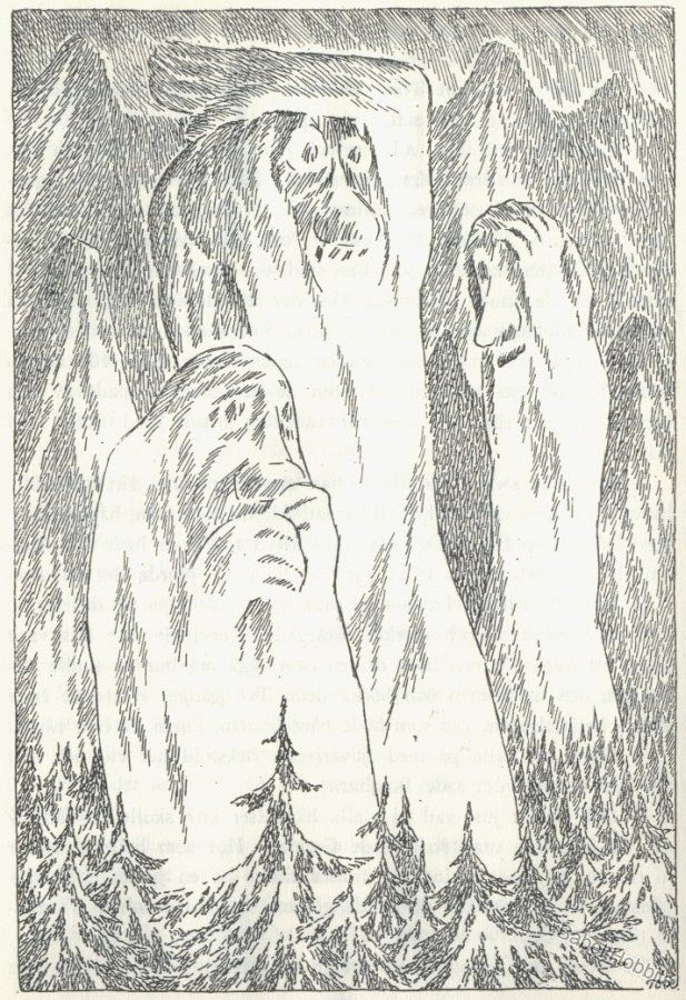 Tove Jansson -- some unlucky trolls
