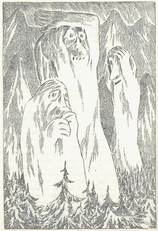 GALLERI: Tove Janssons 'Hobbitten'-tegninger