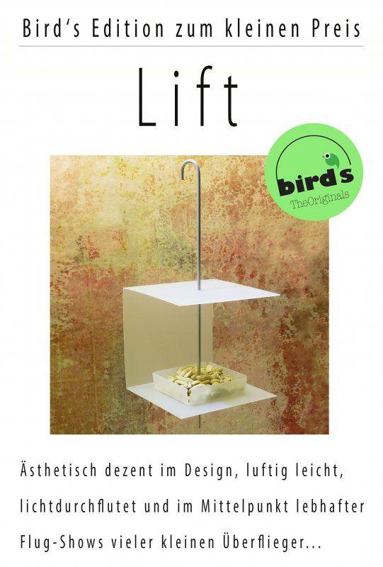 Vogelfutterhäuschen für Balkon und Garten...Gute-Laune-Gezwitscher garantiert !