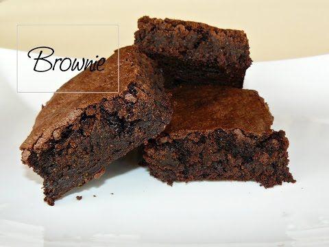 Brownie elkészítése recepttel - YouTube