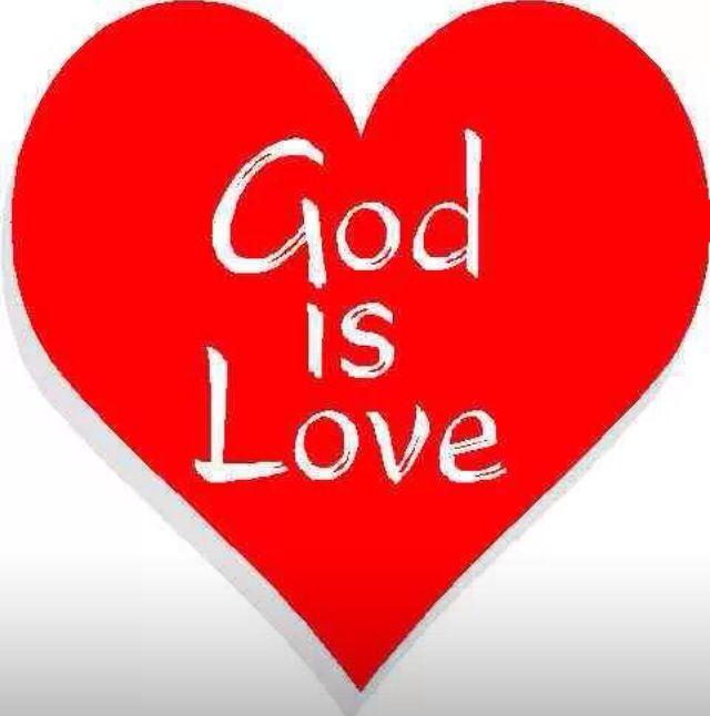 Dios es amor Juan 4: 8 ❤️
