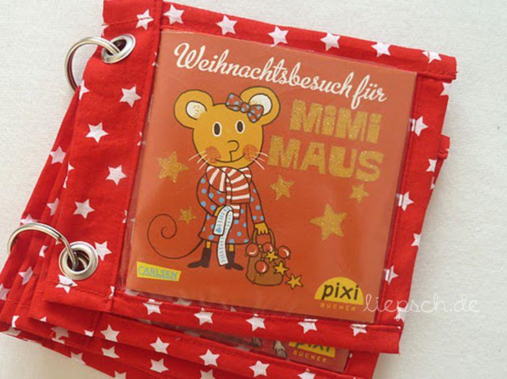 // liepsch.: // tutorial pixibuch-adventskalender und pixibuch-aufbewahrung.