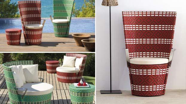 3 mobili da giardino di lusso per arredo esterno