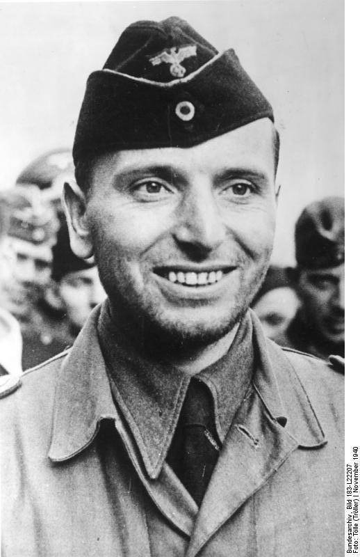 Kapitänleutnant  Otto Kretschmer, also known as Otto der Schweigsame (Silent Otto), November 1940.