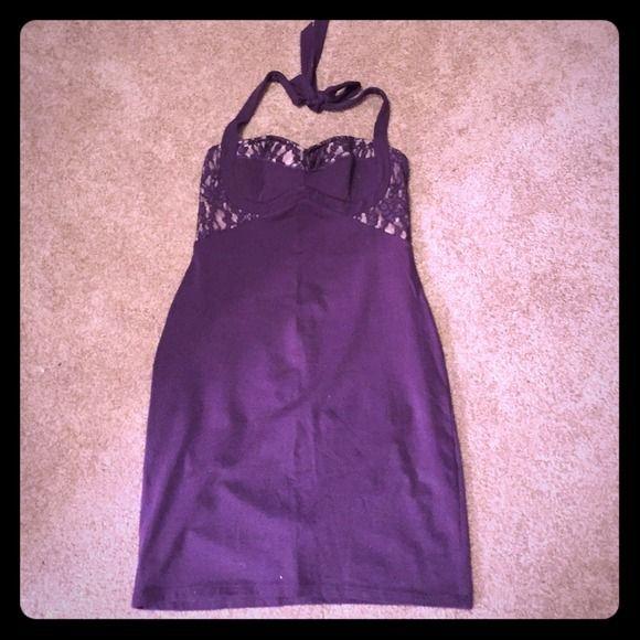 Victoria Secret Dress Victoria Secret halter dress. Only worn once. Size small. Victoria's Secret Dresses