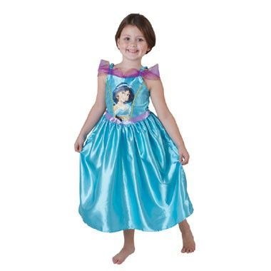Jasmine prinsessenjurk - maat 92/116  Is Jasmine jouw favoriet Disney prinses? Verkleed je dan met carnaval of andere verkleedfeestjes als Jasmine in deze prachtige prinsessenjurk. In maat 92/116.  EUR 12.74  Meer informatie