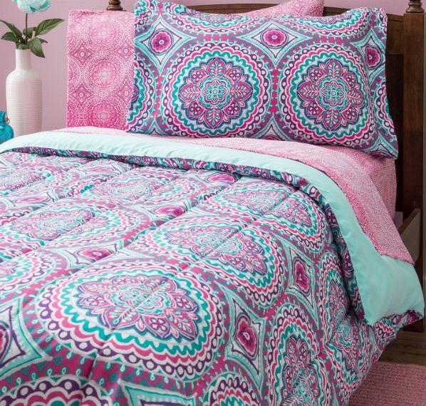 Pink Bedding, Kids Comforters And Teen Bedding
