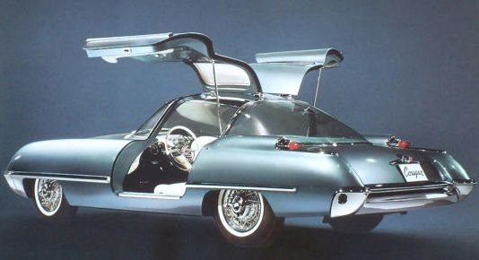1962 Ford Cougar 406 Concept