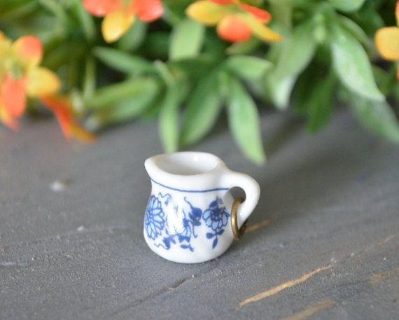 Tea Party Charm, Miniature Tea, Tea Cup