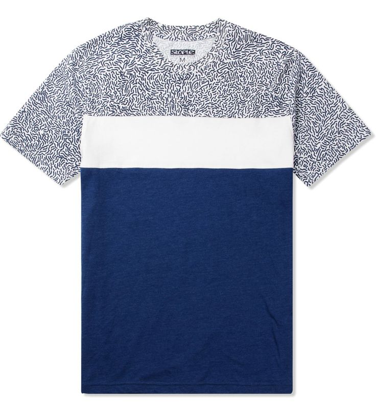 Staple Blue Scribble Piece T-Shirt
