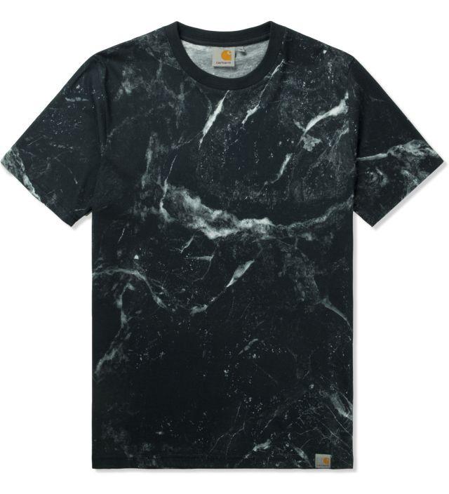 Carhartt WORK IN PROGRESS Black S/S Marble T-Shirt | HYPEBEAST Store. Shop Online for Men's Fashion, Streetwear, Sneakers, Accessories