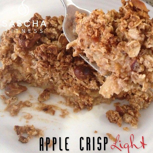.@Sascha Schneider Barboza | Apple Crisp Super Light Ingredientes: Para la conchita/Crisp: 1 taza de ave... | Webstagram - the best Instagram viewer