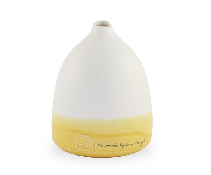 Yellow dipped bottle