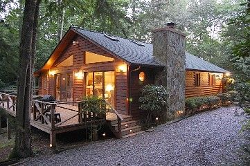 5.5 Acre Creek Front Cabin ~ No Other Cabins in Sight! Vacation Rental in Murphy from @homeaway!