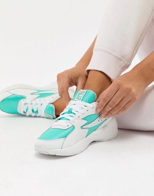 1f39fa0619a3 Fila - Mind Blower - Chaussures - Menthe en 2019