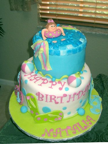 Pool party by sharoncakes, via Flickr