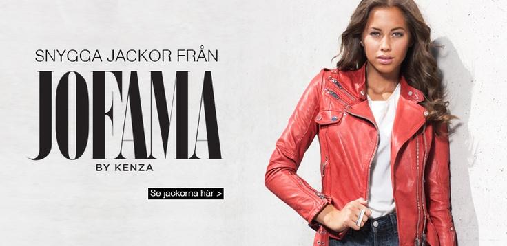 Kenza's jackets now on estella.se