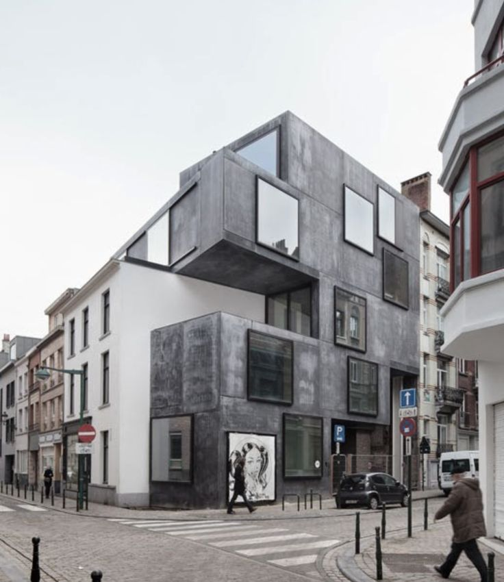 Little Willy (Guesthouse), BE-Brussels Low architecten