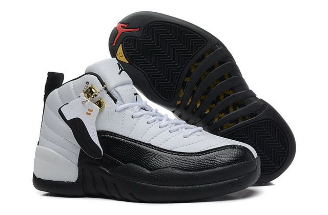 dffbea765949e8 Authentic Womens Air Jordan 12 Taxi White Black Taxi Varsity Red 130690 125  For Sale