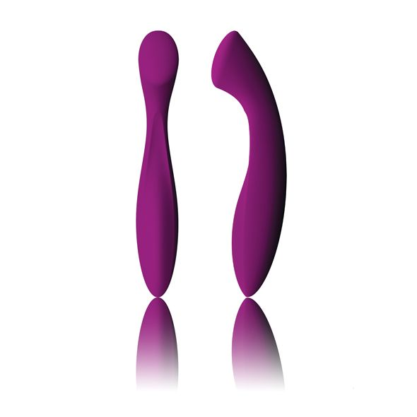 Ella is a pleasure object of the most classical design - just looking at her arouses the most intimate possibilities. Smooth and seamless to the touch, her flowing form is tailored for individuals and couples to explore their innermost fantasies. Presenting an attractive alternative to the vibe, Ell