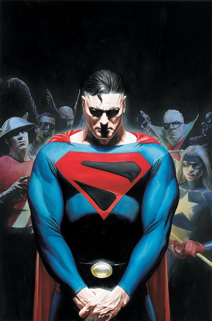 """Alex Ross Justice Society cover (""""The Kingdom"""")"""