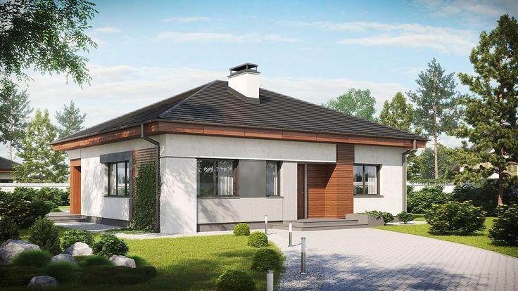 DOM.PL™ - Projekt domu SZ5 Z273 CE - DOM OZ7-15 - gotowy projekt domu