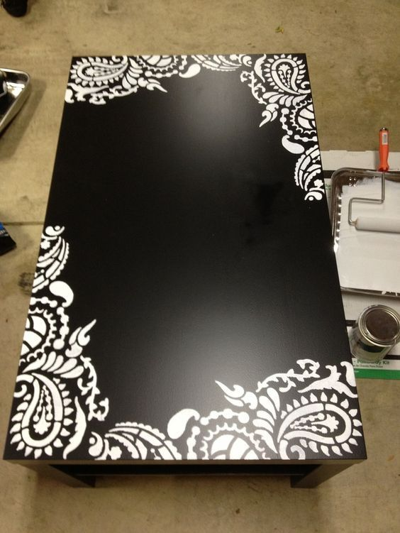 Stencils for Furniture Pictures Idea