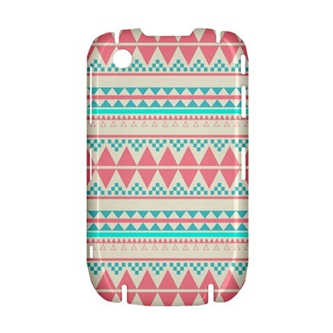 NEW Pink Aztec Pattern BlackBerry Curve 8520 9300 Hardshell Case Cover BB Curve 8520 9300 Case - Available for other type of BB