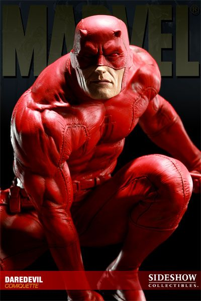 Daredevil Polystone Statue - Sideshow Collectibles - SideshowCollectibles.com