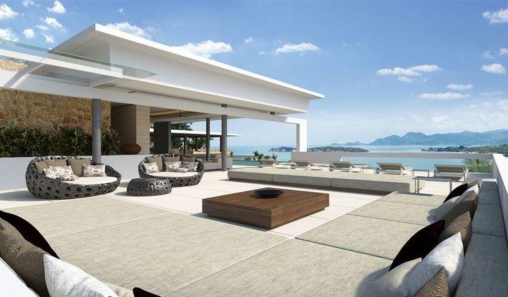 Samujana Villa 24  Terrace