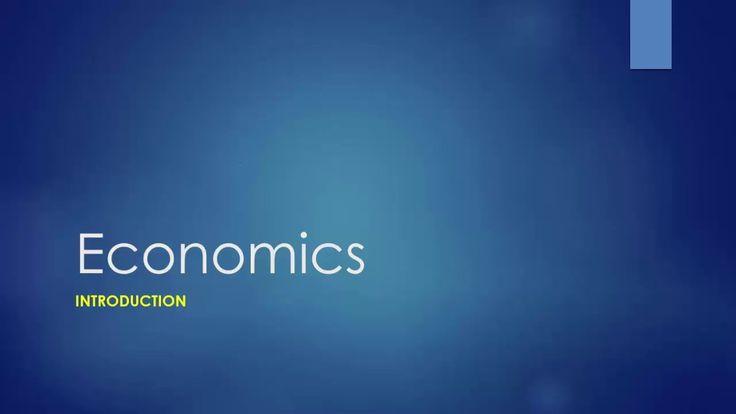 What is Economics - Economics Definition