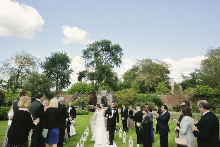 wedding ideas ireland the front view of the ceremony outdoor wedding 27948