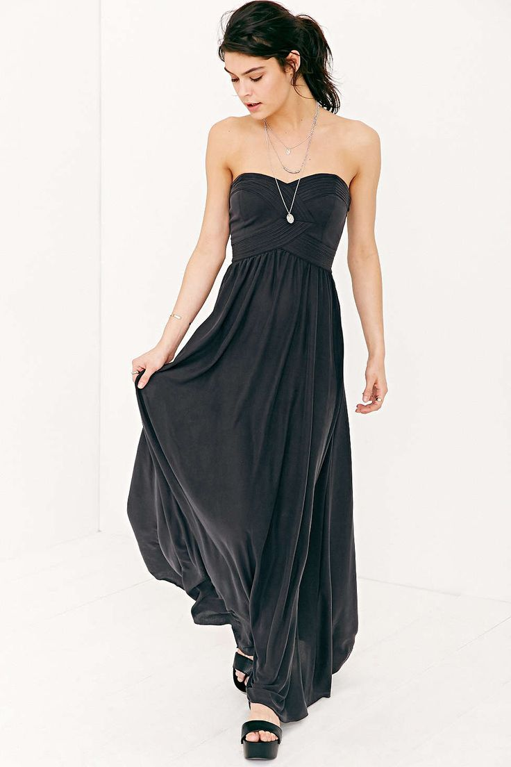 Best 20 strapless maxi dresses ideas on pinterest beach for Urban outfitters wedding dresses